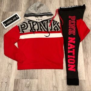 Pink Victoria's Secret Nation Outfit